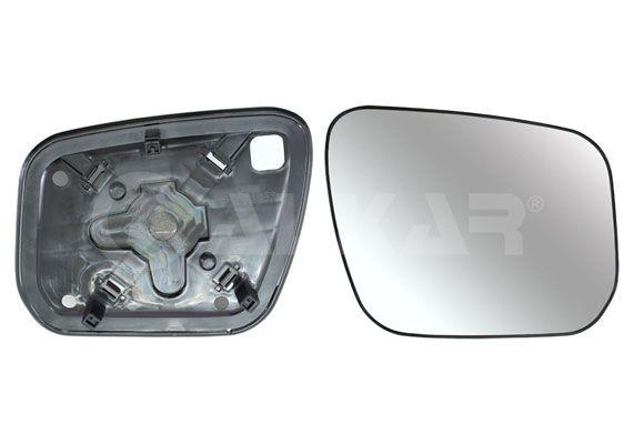 ALKAR Mirror Glass, outside mirror 6431125