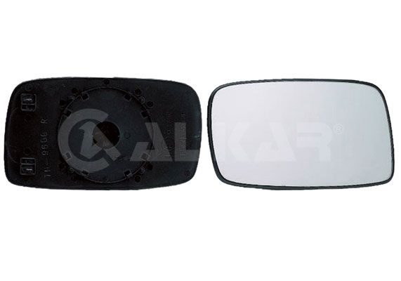 ALKAR Mirror Glass, outside mirror 6432128